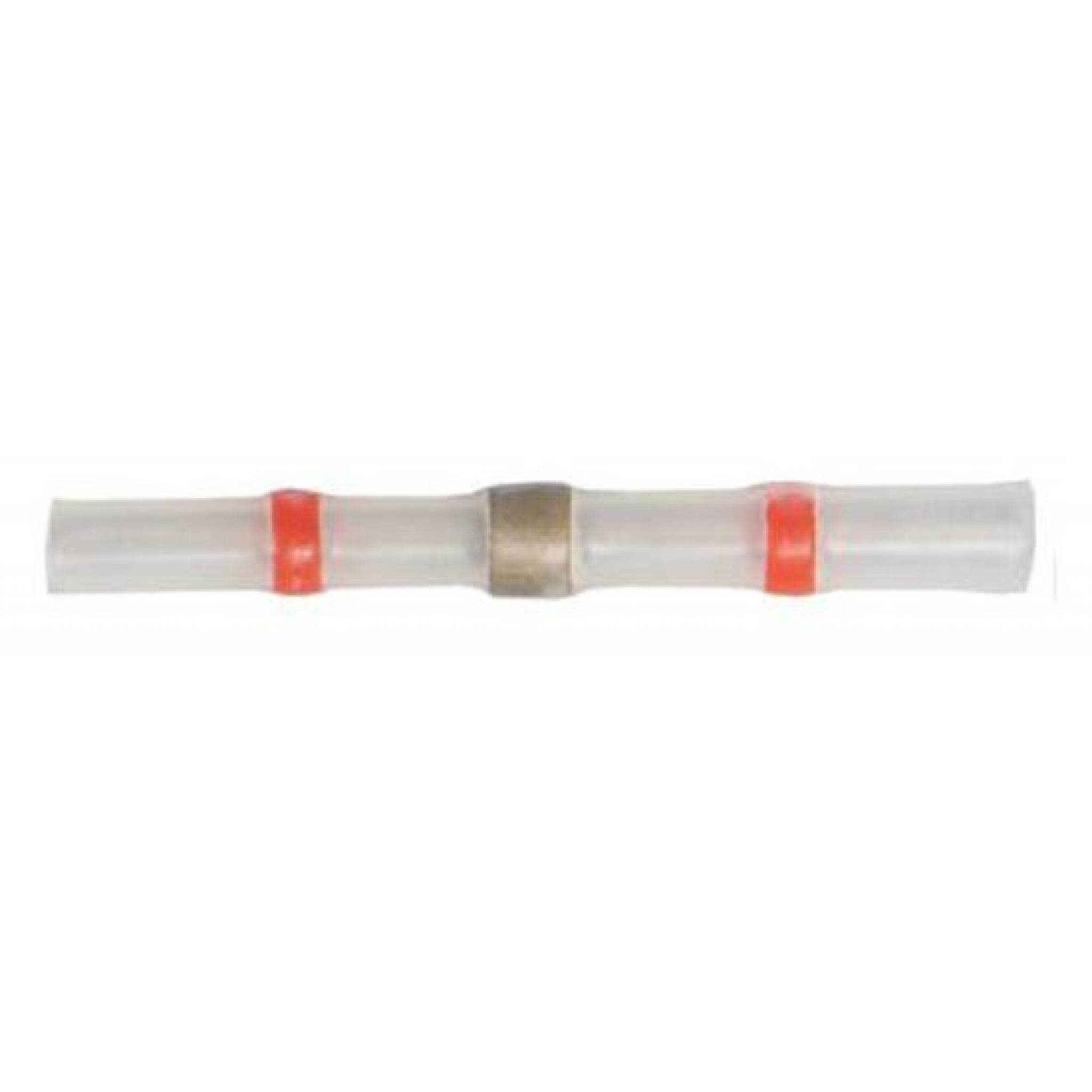 Red Heat Shrink Solder Sleeve Splice Adhesive Lined Wire Connector Heatshrink
