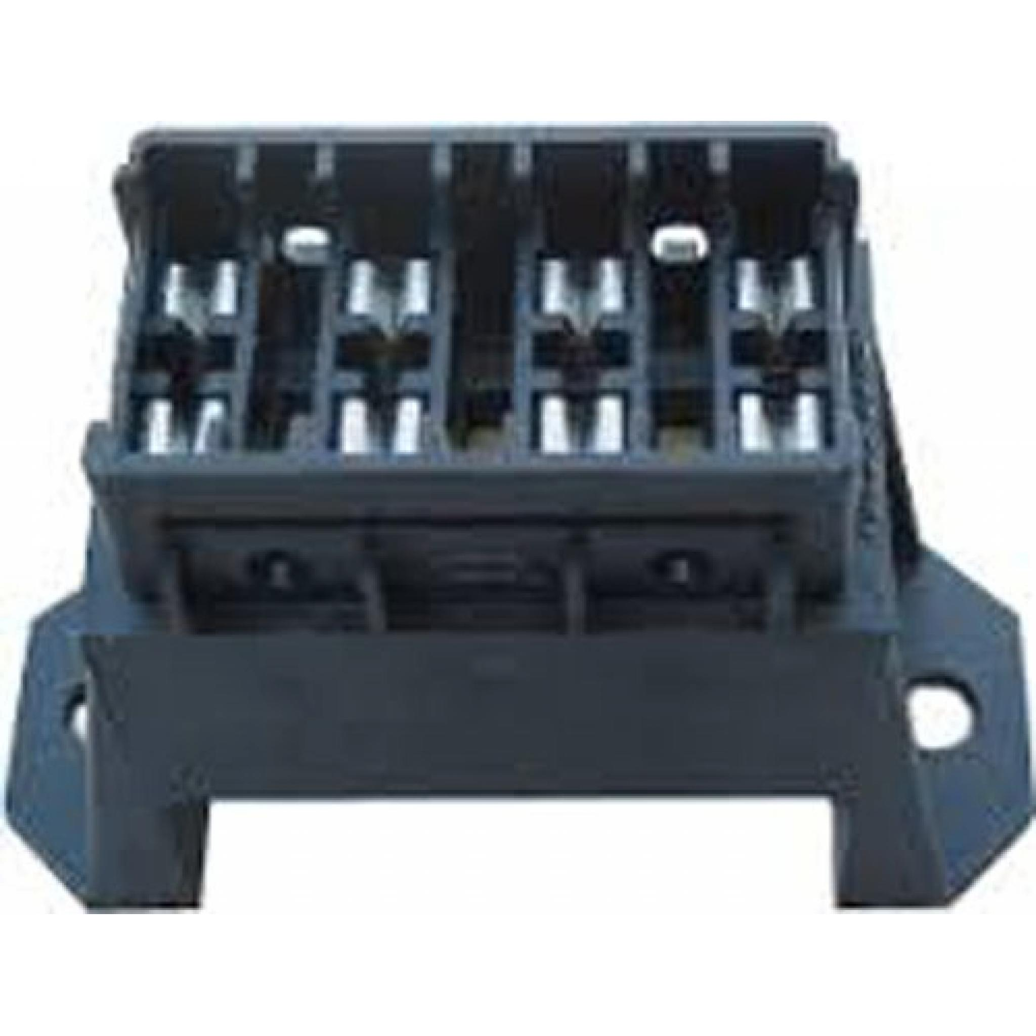 Blade Fuse Box (4 way) - Car Auto Wiring Electrical Connectors -  on