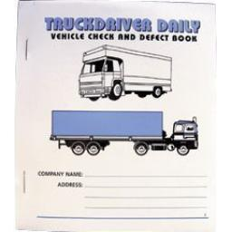 Defect Book (20 Page) -tachographs - truck lorry wagon taco tacos