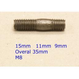 Stud M8 x 35 - Honda (20) Car Auto Exhaust Manifold Studs