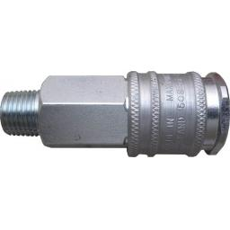 PCL Airline XF Coupling - 1/4 Male Thread - High Flow Coupling Connector Air Line Hosing Hose Compressor Fitting Air tool