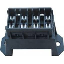Blade Fuse Box (4 way) -  Car Auto Wiring Electrical Female Connectors - Auto Cable