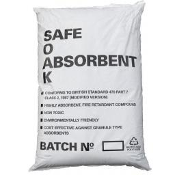 Oil Spillage Spillage Absorbent  Organic 30 litre Safe Soak Highly Absorbent Non Toxic Fire Retardant Compound Fluid Oil Spillage
