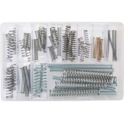 Assorted Box of  Compression Springs (Qty 70) - Extension Tension Compression Extended Compressed
