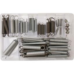 Assorted Box of  Expansion Springs (70) - Tension Extension Expanding Extending Springs