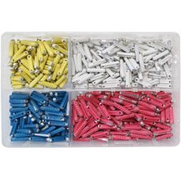 Assorted Box of  Continental Fuses (500) - Car Auto Motorbike Truck Lorry Wiring Electrical Auto Cable Wire