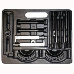 Silverline 14pce Gear & Bearing Puller Set - Bearing Splitter Gear Puller Fly Wheel Separator Workshop Tool Kit Set
