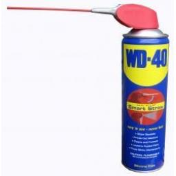 WD40 - 400ml Aerosol/Spray - Penetrates Penetration Oil Cleans Spray Lubrication Care Lubricant Car Van Lorry Truck Boat Quad