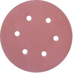 Hook & Loop Disc, 150mm (120 grit) (25)Sanding Disc Pad 6 Holes Sandpaper Grinder Sander Polisher Various grit