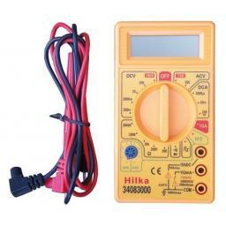 Silverline Digital Multi Meter (7 functions) - 19 Ranges Covers AC/DC Voltage
