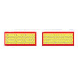 Pair of Marker Boards ECE70 (type 265) - Signs Lorry Truck Trailer Aluminium Sign Board