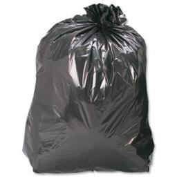 "Refuse Wheelie Bin Bags 30"" x 46"" x 54"" (100) - Strong Heavy Duty Rubbish Sack Big Refuse Bin Bags"
