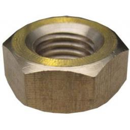 """1/4"""" UNC Brass Exhaust Manifold Nuts - High Temperature"""