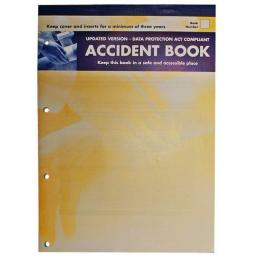 Accident Report Book HSE Compliant First Aid School Office Work Injury Health and Safety