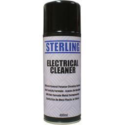 Sterling Electrical Cleaner Aerosol/Spray (400ml) - Contact Cleaner Switch Clean Aerosol Spray Can Dirt Remover