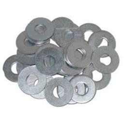 Heavy Duty Flat Washers 5mm Bzp (500) use with Nut Bolt Set Screw Fasteners