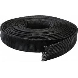8mm Expandable Braided Sleeving - Braid Cable Sleeve Cover - Expandable, Wire Harness, Marine, Auto, Sheathing