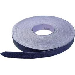 Emery Roll 25mm x 50m Medium (80 grit) - Blue Cloth engineers aluminium oxide roll emery cloth tape