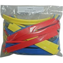 Assorted Coloured Heatshrink 2:1 Ratio  Tube Tubing Sleeving
