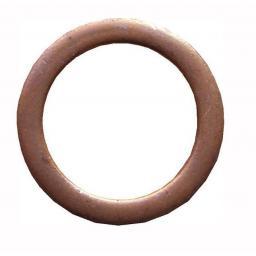 Sump Washers Copper 18 x 24 x 1.5 (25) - Car Auto Oil Seal Washer Sump Plug Drain