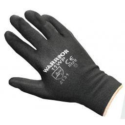 PU Dipped Gloves (5 pairs) - Large Hand Work Gloves PU Dipped Safety Workwear