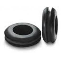 Wiring Grommets 16mm - Hole Rubber Grommet Open Gasket Wiring Panel Cable Ring Electrical Wire