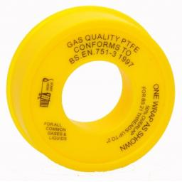 PTFE GAS TAPE - Non Adhesive Thread & Compression Joint Seal Sealing Plumber Pipe Thread Seal