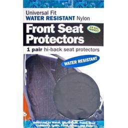 Heavy Duty Nylon Front Seat Covers (pair)  - Car Van Valeting Valet Protection Mechanic Garage