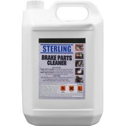 Sterling Brake and Clutch Cleaner (5ltrs) -  Degreaser Oil Dirt Remover Prevents Rust Corrosion and Brake Squeal