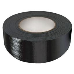 "Gaffer Tape 48mm x 50m BLACK - Duck Duct Cloth Waterproof Gaffer Gaffa Tape Black White Silver 2"" 50mm"