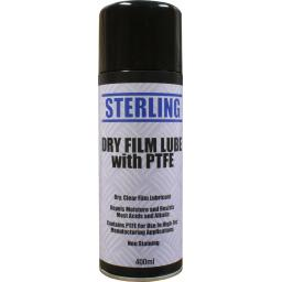 Sterling Dry Film Lube Aerosol/Spray (400ml)- Clear Protection Lubrication Oil