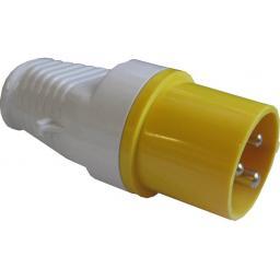 110v Inline Industrial Plug (16a) - Caravan Site Light