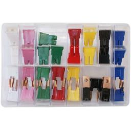 Assorted Box of  Pal Fuses (30) - Car Auto Motorbike Truck Lorry Wiring Electrical Auto Cable Wire
