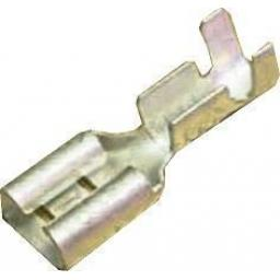 Uninsulated Spade Terminals  6.3mm (2.5mm≤ cable) Crimp Car Auto Wiring Electrical Female Connectors - Auto Cable
