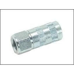 Hydraulic Grease Connectors 1/8 BSP (5) Grease gun end connector - hydraulic coupler 1/8 bsp