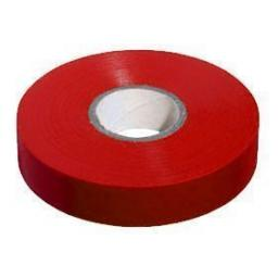 PVC insulation Tape BS3924 Red 19mm X 20m - Electrical Insulating Flame Retardant Cable Repair Electric Wiring Colour