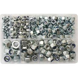 Assorted Nylon Insert Nuts M5 - M14 (Metric) (400) used with Nuts and Flat Washers 8.8 High Tensile Fasteners Bolts Set Screws Metric