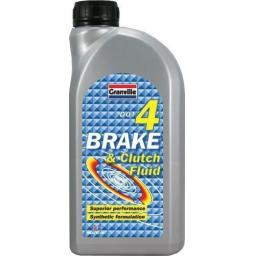 Granville Brake and Clutch Fluid (DOT4) 1 litre Lubricant Lube For ABS Braking Systems