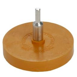 Rubber Eraser Caramel Wheel & Spindle -  Sticker Decal Graphics Adhesive Tapes Glue Remover Pin striping Toffee