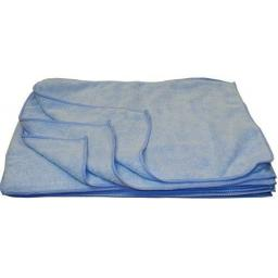Microfibre Cloths - 45 x 30cm (12) - Polish Polishing Dust Cleaner Contract Cleaning Micro fiber