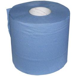 Paper Wipes 2-ply 190mm x 150m Blue - Towel Hand Cleaner Wipes