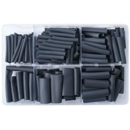 Assorted Box of 3:1 Adhesive Lined Heatshrink Mix - Assorted 3:1 Heat Shrink Wrap Sleeving Car Auto Wiring cable Electrical Black  Tube Sleeving