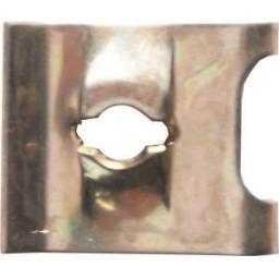 Speed Fasteners U Clips Type 8 (100) U Nuts Self Tapping Screw Spire U Clips Interior Trim Panels