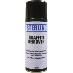 Sterling Graffiti Remover Aerosol/Spray (400ml) - Can Chewing Gum, Pen, Spray Paint,Crayon