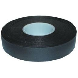 PVC Tape Non Adhesive Black 19mm x 40m - Electrical Insulating Flame Retardant Cable Repair Electric Wiring Loom Harness