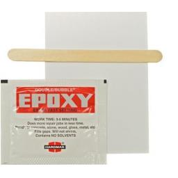 Hardman Double Bubble Epoxy Adhesive  (3g) - for golf shaft metal concrete glass wood