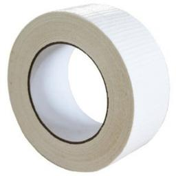 "Gaffer Tape 48mm x 50m WHITE - Duck Duct Cloth Waterproof Gaffer Gaffa Tape Black White Silver 2"" 50mm"