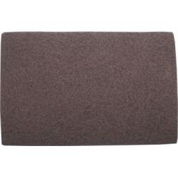 Hand Pads (Grey) - Fine (10) - Flexible Non Woven Scrubbing Scouring Finishing Cleaning Abrasive Hand Pads