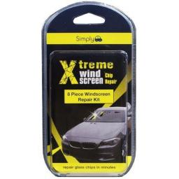 Windscreen Repair Kit - Wind screen Glass Repair Kit Glue Resin Stonechip Window XTREME Car Van Truck lorry