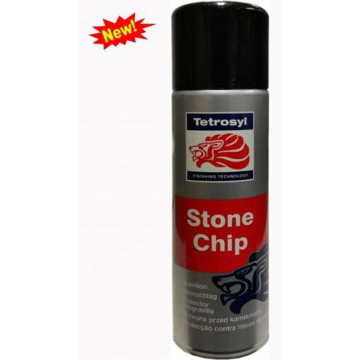 Sterling Stonechip White Spray Paint Stone chip Guard 400ml Aerosol Oversprayable